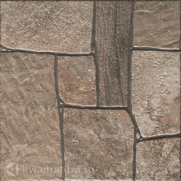 Керамогранит Cersanit Exterio Коричневый 32,6х32,6 см