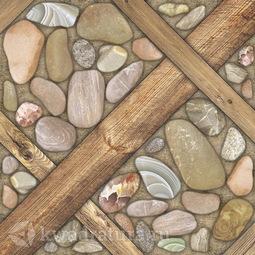 Керамогранит Березакерамика Аризона коричневый 41.8х41.8 см