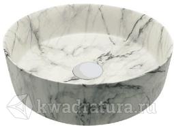 Раковина 3134 мраморная Azario 35x35 см