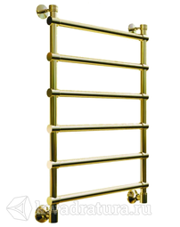 Полотенцесушитель Bronze De Luxe Классик Лесенка бронза нижнее подключение