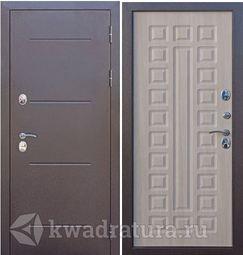 Входная дверь Феррони Изотерма Медный антик/Лиственница Мокко