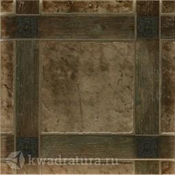 Керамогранит Керамин Шато коричневый 4 50х50 см