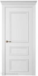 Межкомнатная дверь Океан Дрезден 3 ДГ Эмаль белый шелк