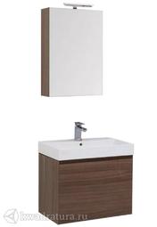 Комплект мебели для ванной Aquanet Нью-Йорк 60 орех