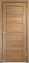 Межкомнатная дверь VellDoris Linea 1 дуб золотой