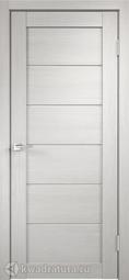Межкомнатная дверь VellDoris Linea 1 дуб белый матеюкс