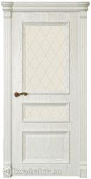 Межкомнатная дверь Магнолия 3 ДО Дуб белый жемчуг