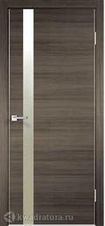 Межкомнатная дверь VellDoris Techno Z1 дуб серый поперечный