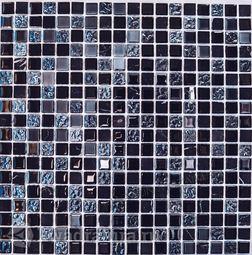 Мозаика стеклянная c камнем Bonaparte Tesla 30х30