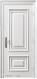 Межкомнатная дверь Нарцисс ДГ эмаль белая