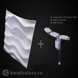 Гипсовые 3D Панели Artpole Sandy2 Led White