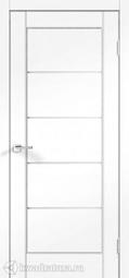 Межкомнатная дверь VellDoris Premier 1 Ясень белый стекло мателюкс 2000х800