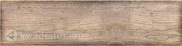 Керамогранит Березакерамика Шато коричневый 60х15 см
