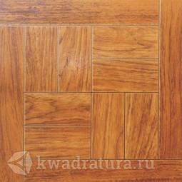 Напольная плитка Axima Паркет с металлизацией Орех 32,7х32,7 см