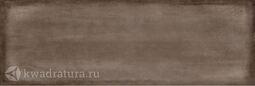 Настенная плитка Cersanit Majolica коричневая 19,8х59,8 см